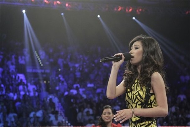American Idol runner-up Jessica Sanchez Live