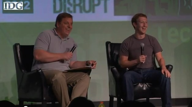 Mark Zuckerberg at TechCrunch's Disrupt full video