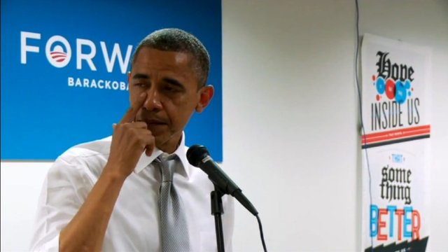 Barack Obama In Tears