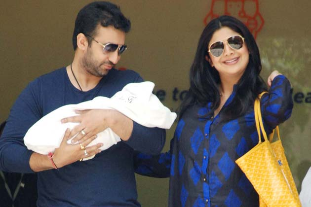 Shilpa Shetty baby boy name