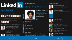 Official LinkedIn app for SmartPhone