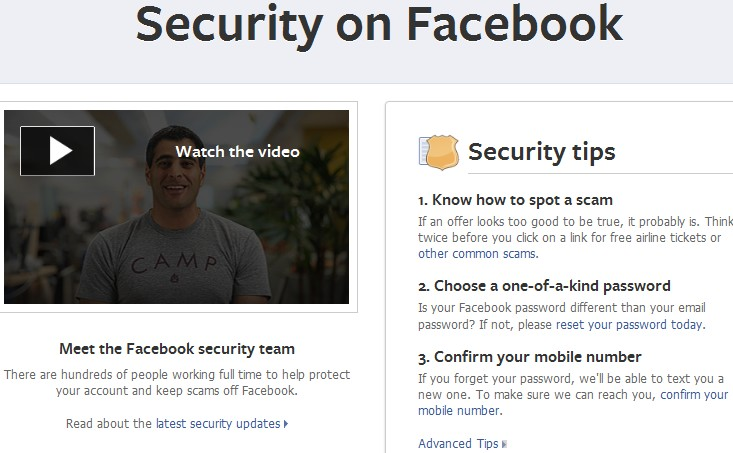 facebook security guide pdf