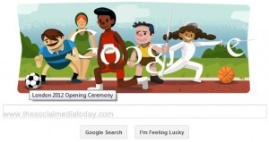 London Olympic 2012 : Google Doodle