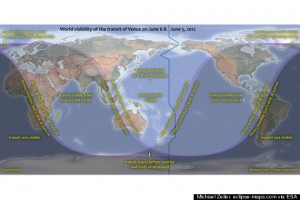 How to watch transit of Vinus of June 6 and June 5, 2012