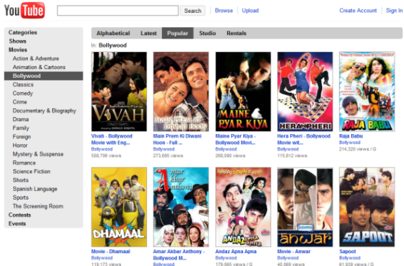 Youtube-hindi-movies