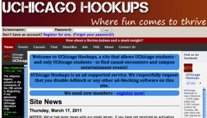 Sex Websites by the Universities of Chicago