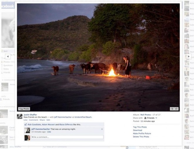Facebook has made some changes to its photo viewer