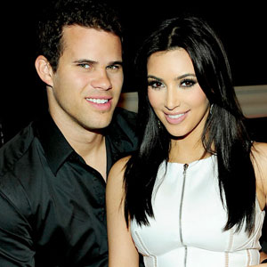 Kim Kardashian and Kris Humphries wedding photo