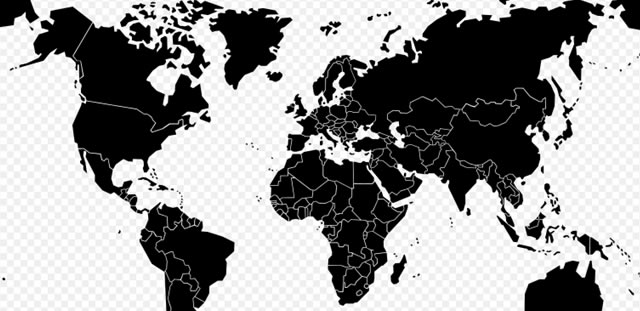 Wikipedia Blank Maps: Low Res World Map (.svg format)