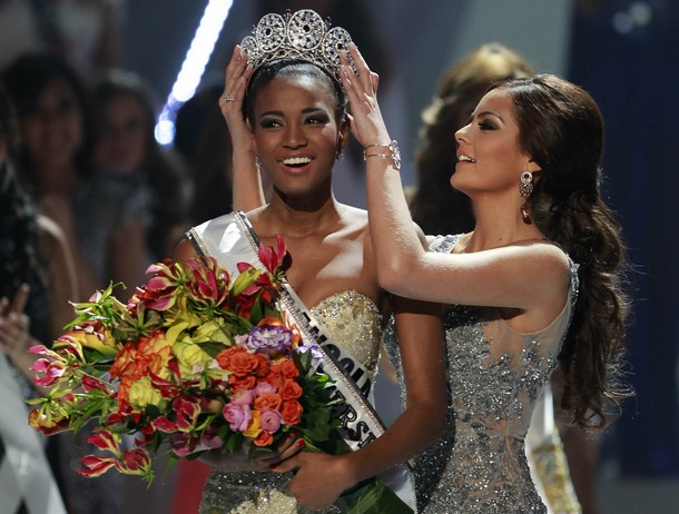 Miss Universe 2011 winner is Miss Angola Leila Lopes images