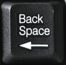 backspace key bord