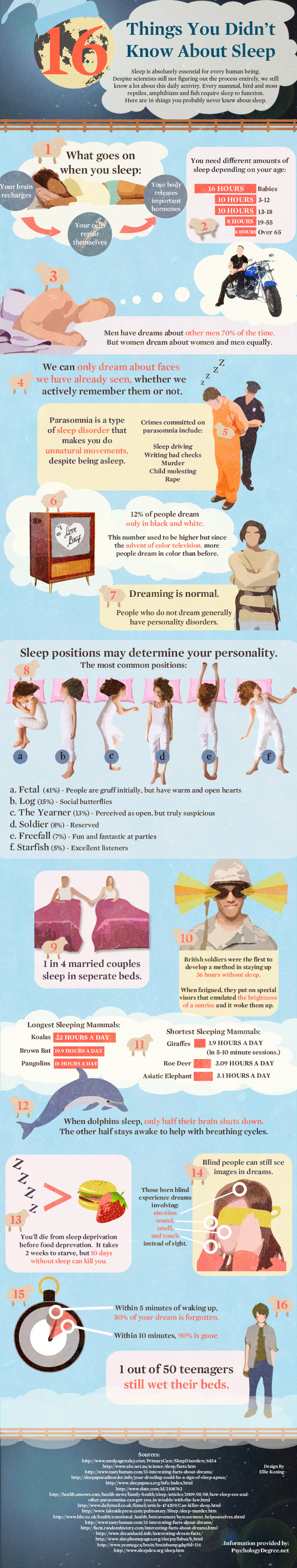 16 Things You Didn't Know About Sleep