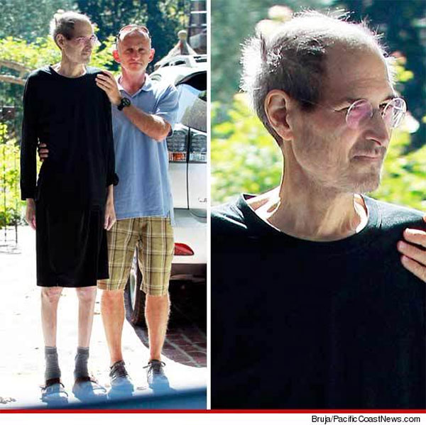 Steve Jobs recent photo