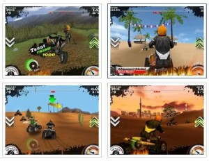 Free iPhone game Dirt Moto Racing