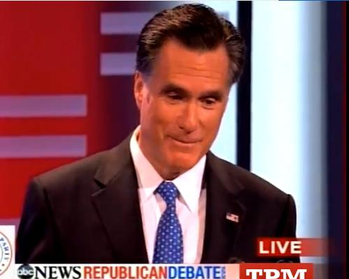 Mitt Romney Offers Perry a $10K Bet