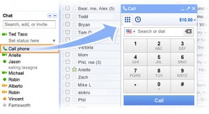 free call from desktop to phone