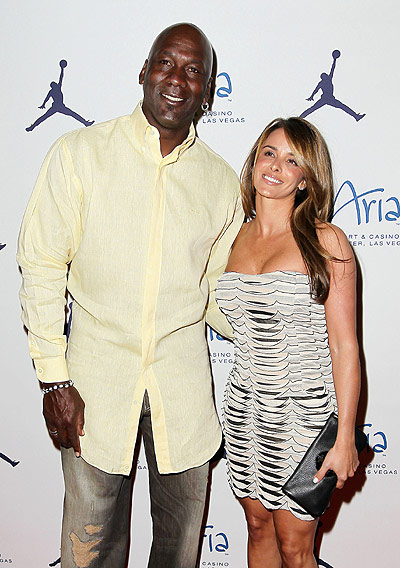 Michael Jordan and Yvette Prieto engaged