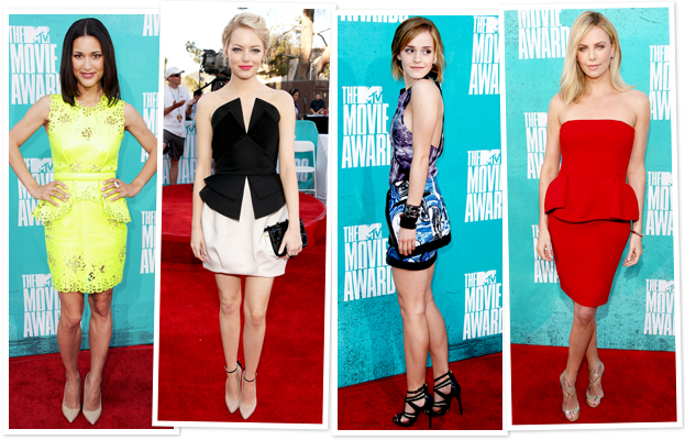 2012 MTV Movie Awards Red Carpet