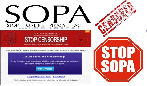 how SOPA works
