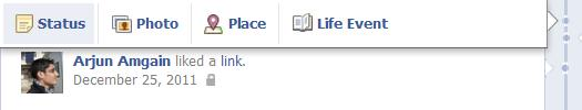 Add Life Events and Accomplishments in facebook