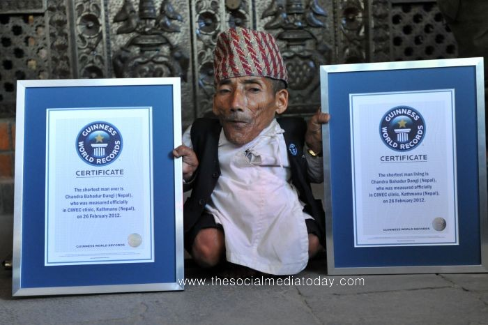 Guinness World Records Shortes Man
