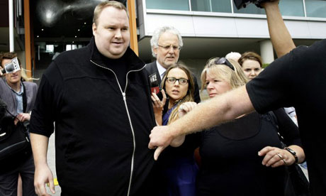 Megaupload founder granted bail video