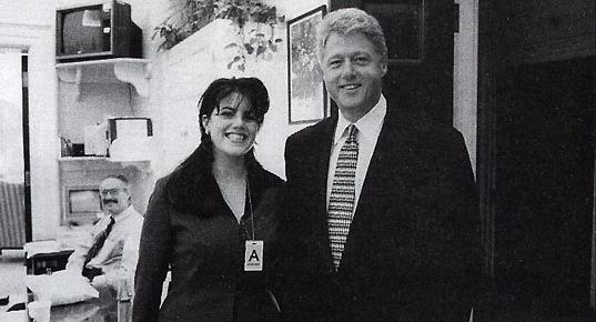 Monica Lewinsky and Bill Clinton Scandal video