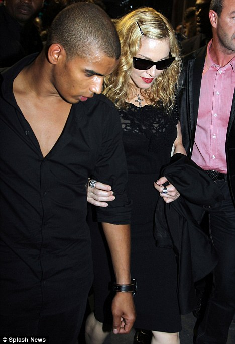 Brahim Zaibat and Madonna Photo