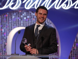 Emmerdale's Danny Miller at British Soap Awards