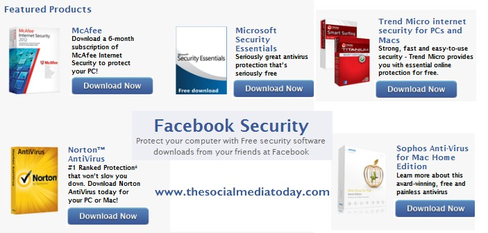 Download Free Antivirus Software from Facebook