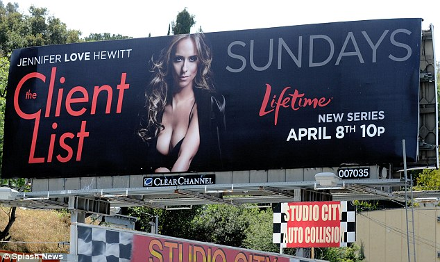 Jennifer Love Hewit ads poster