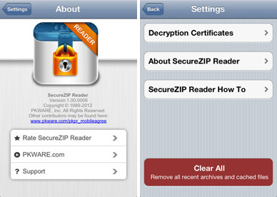 download SecureZIP Reader free