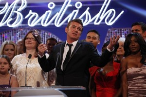 Entire EastEnders cast at British Soap Awards 2012