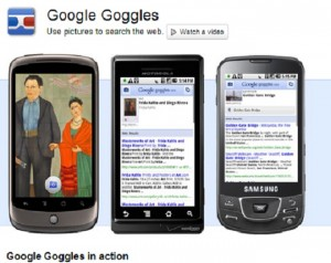 Google Goggles apps free download