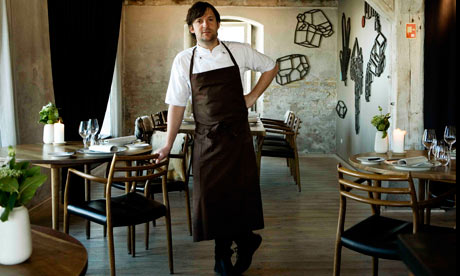 Ren Redzepi in Noma restaurant address