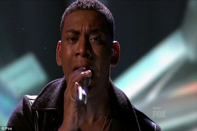 d: Joshua's performance of the Bee Gees song left the three  judges speechless