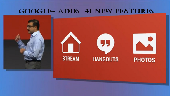 Google+ Gets 41 New Features