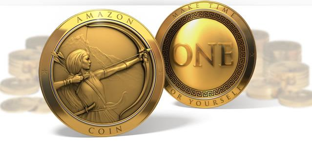 """Amazon's new """"virtual currency"""" Amazon Coin."""