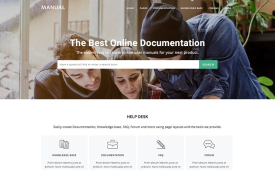 manual-documentation-helpdesk-wordpress-theme-550x340