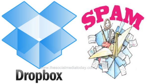 Dropbox Spam Attack