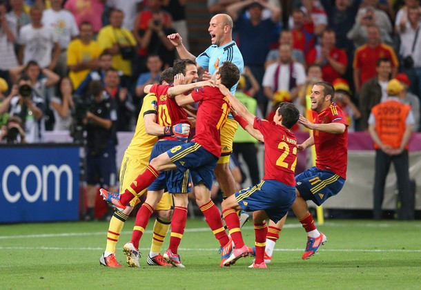 Portugal v Spain - UEFA EURO 2012 Semi Final Photos