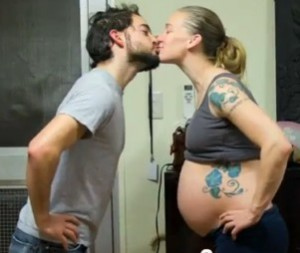 nine-month pregnancy cycle pictures