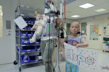 Young cancer patients' 'Stronger' HD video