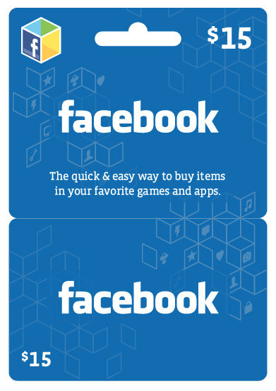 Free Facebook Gift Cards